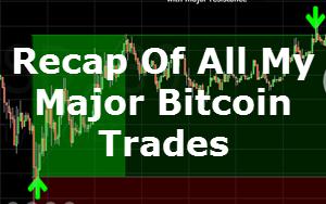 bitcoin trade recap