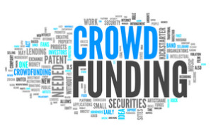Word Cloud with Crowd Funding related tags