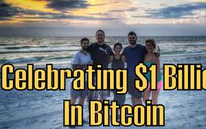 celebrating 1 billion bitcoin