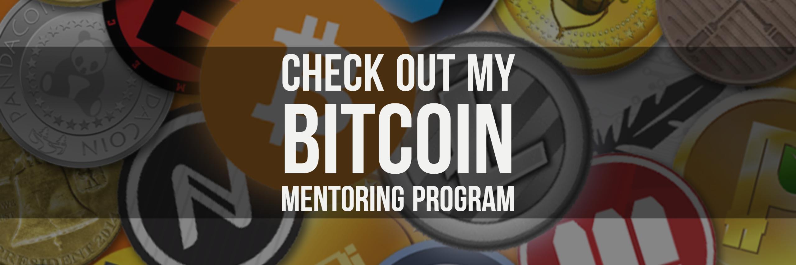 Click To Join My Bitcoin Mentoring Program